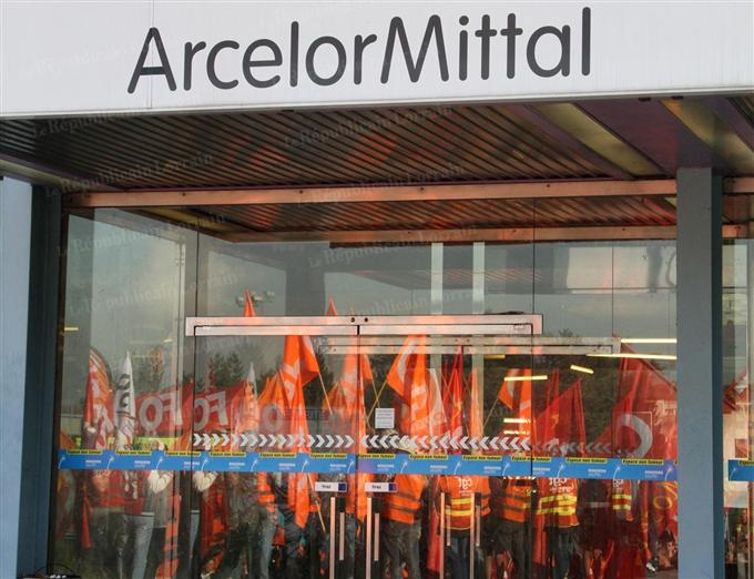 France Recyclage News Blog Archive Arcelormittal Des Ouvriers