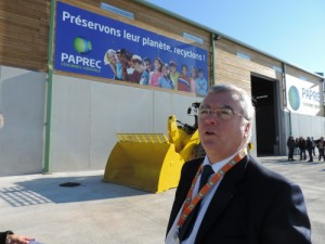 Jean Luc Petithuguenin, Président Fondateur de Paprec